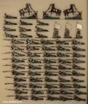 Heinrichsen: Infanterie-Bataillon liegend schießend, 1870 bis 1871