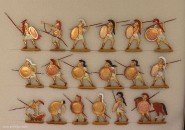Berliner Zinnfiguren: Hopliten im Kampf, 3000 v.Chr. bis 400 n.Chr.