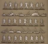 Diverse Hersteller: Assyrische Bogenschützen, 3000 v.Chr. bis 400 n.Chr.