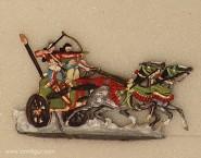 Kieler Zinnfiguren: Assyrian war chariot fighting, 3000 v.Chr. bis 400 n.Chr.