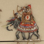 Neckel: War elephant charging, 3000 v.Chr. bis 400 n.Chr.