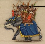 Kieler Zinnfiguren: Numidian war elephant, 3000 v.Chr. bis 400 n.Chr.