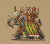 Kieler Zinnfiguren: War elephant fighting, 3000 v.Chr. bis 400 n.Chr.