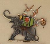 Menz: Wounded war elephant, 3000 v.Chr. bis 400 n.Chr.