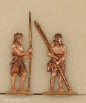 Berliner Zinnfiguren: Early fashion couple - stone age, 100000 v.Chr. bis 3000 v.Chr.