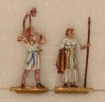 Berliner Zinnfiguren: Early fashion couple - bronze age, 100000 v.Chr. bis 3000 v.Chr.