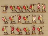 Kieler Zinnfiguren: Ancient egyptian infantry fighting, 3000 v.Chr. bis 400 n.Chr.