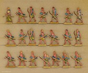 Hafer: Archers of the sea people advancing, 3000 v.Chr. bis 400 n.Chr.