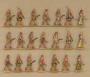 Hafer: Warriors of the sea people advancing, 3000 v.Chr. bis 400 n.Chr.