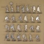 Kieler Zinnfiguren: Ancient egypt infantry attacking, 3000 v.Chr. bis 400 n.Chr.