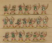 Neckel: Cretan archers fighting, 3000 v.Chr. bis 400 n.Chr.