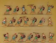 Verschiedene Hersteller: Warriors of the sea people attacking, 3000 v.Chr. bis 400 n.Chr.
