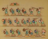 Verschiedene Hersteller: Warriors of the sea people fighting, 3000 v.Chr. bis 400 n.Chr.
