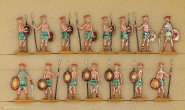 Hafer: Warriors of the sea people standing, 3000 v.Chr. bis 400 n.Chr.