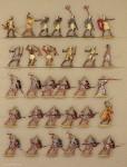 Verschiedene Hersteller: Ancient egypt infantry attacking, 3000 v.Chr. bis 400 n.Chr.