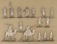 Verschiedene Hersteller: Ancient egyptians and arabs, 3000 v.Chr. bis 400 n.Chr.