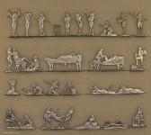 Neckel: Ancient egyptian women bath, 3000 v.Chr. bis 400 n.Chr.