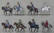 Herbu: Husaren auf dem Marsch, 1756 bis 1763