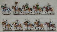Diverse Hersteller: Regiment Royal Cravattes, 1756 bis 1763