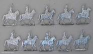 Kieler Zinnfiguren: Carabiniers, 1712 bis 1786