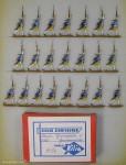 Kieler Zinnfiguren: Grenadiere im Geschwindschritt, 1756 bis 1763