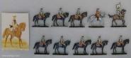 Diverse Hersteller: Kavallerie im Halt, 1712 bis 1786