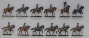 Diverse Hersteller: Kavallerie im Marsch, 1712 bis 1786