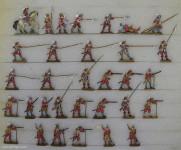 Verschiedene Hersteller: Infanterie in Abwehr, 1618 bis 1648