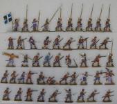 Verschiedene Hersteller: Regiment Villeroy im Kampf, 1618 bis 1648