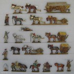 Verschiedene Hersteller: Wagen und Eskorte, 1618 bis 1648