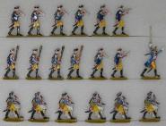 Verschiedene Hersteller: Hoboisten und Trommler, 1756 bis 1763