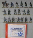 Kilia (Ochel/Kiel): Grenzinfanterie angreifend, 1756 bis 1763