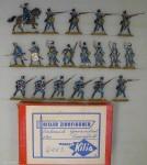 Kilia (Ochel/Kiel): Grenzinfanterie im Feuergefecht, 1756 bis 1763