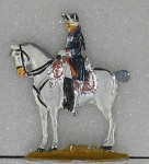 Kieler Zinnfiguren: König Friedrich II., 1712 bis 1786