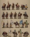 Berliner Zinnfiguren: Choral von Leuthen 1757, 1712 bis 1786