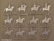 Mignot: Kavallerie im Marsch, um 1672