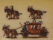 Neckel: Reisekutsche des Blauen Königs, um 1700