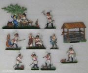 Bunzel: Kürassier-Trinkgelage, 1789 bis 1807