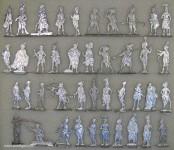 Versch.Hersteller: Figuren der Revolutionszeit, 1789 bis 1804