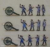 Diverse Hersteller: Artillerie der Linie, 1804 bis 1813