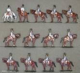 Kieler Zinnfiguren: Kürassiere im Halt, 1804 bis 1815