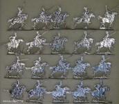 Kieler Zinnfiguren: Cheveaulegers im Angriff, 1804 bis 1815