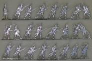 Kieler Zinnfiguren: Grenadiere im Sturm, 1789 bis 1815