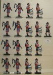 SEGOM: 42. Highlanders Drums & Pipes, 1804 bis 1815