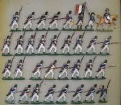 Kieler Zinnfiguren: Grenadiere im Angriff, 1804 bis 1815