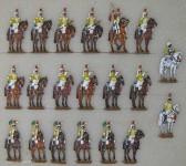 Berliner Zinnfiguren: Musik der 7. Kürassiere, 1804 bis 1813