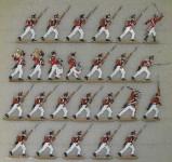 Kieler Zinnfiguren: 4. Schweizer Regiment, 1812 bis 1815