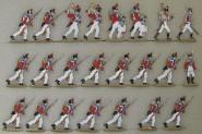 Kieler Zinnfiguren: 3. Schweizer Regiment, 1812 bis 1815