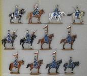 Kieler Zinnfiguren: 8. Chevaulegers-Lanciers 1812, 1810 bis 1814
