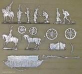 B+S Zinnfiguren: Sächsische Intendanz und Stab, 1810 bis 1813